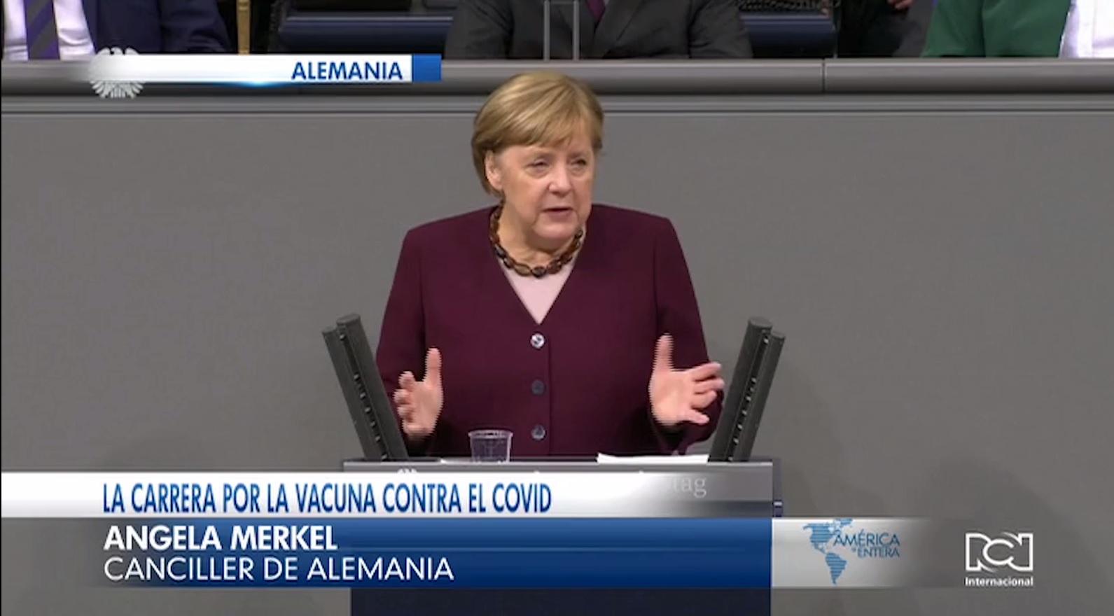 Vacuna contra el Covid-19 podría estar lista en Alemania antes de Navidad