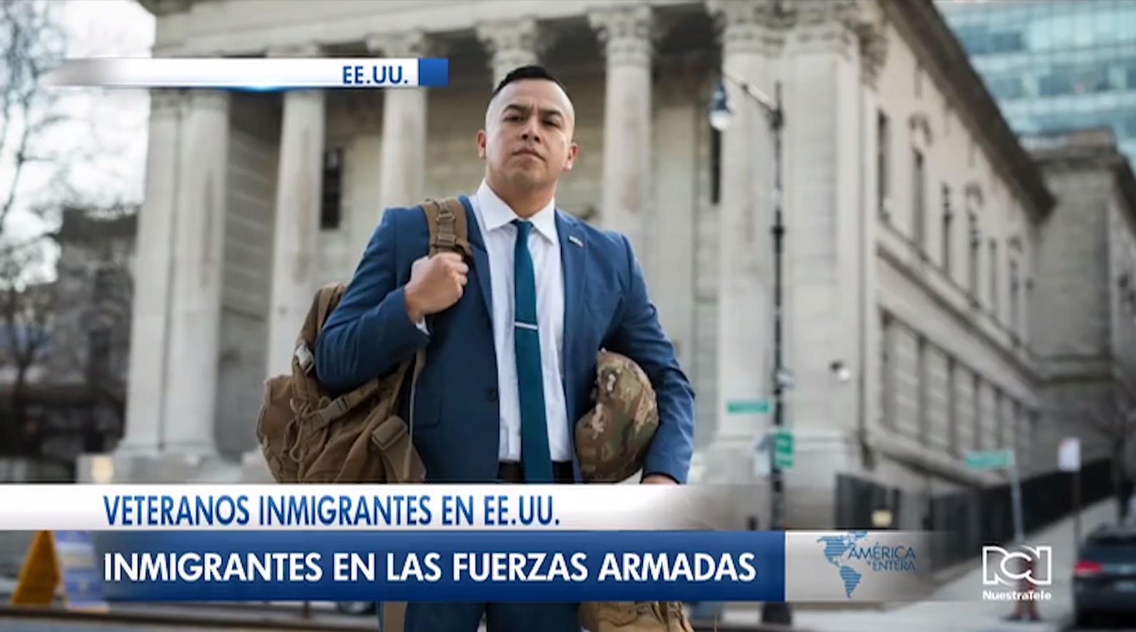 Veteranos migrantes reclaman su naturalización por haber servicio a las fuerzas militares de EE. UU.
