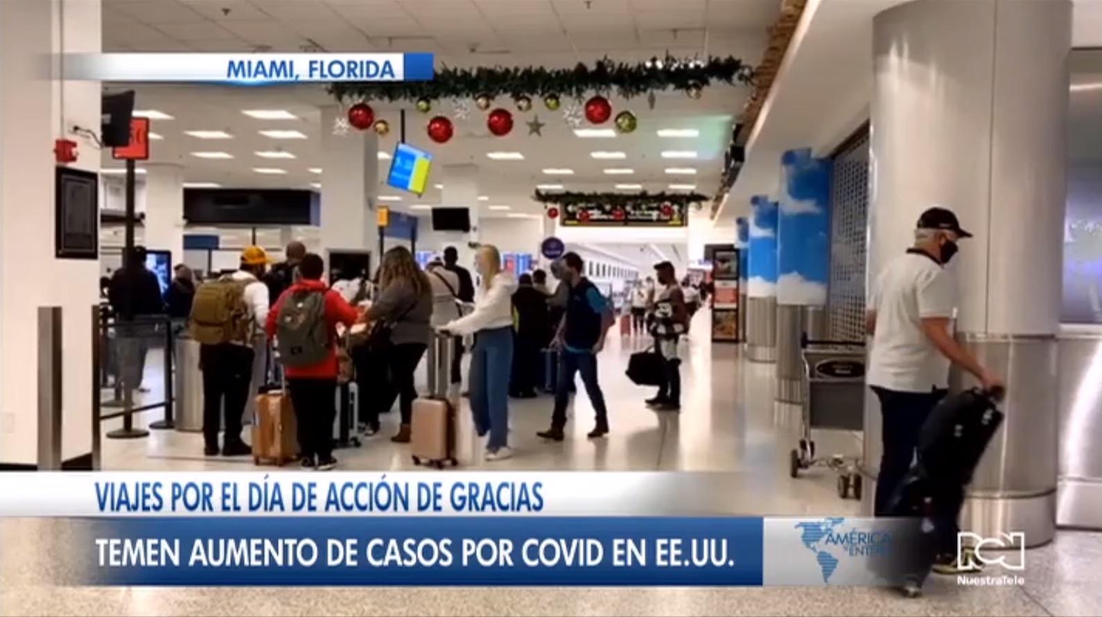 Alerta en Estados Unidos por ola de viajes masivos en el puente feriado de Acción de Gracias