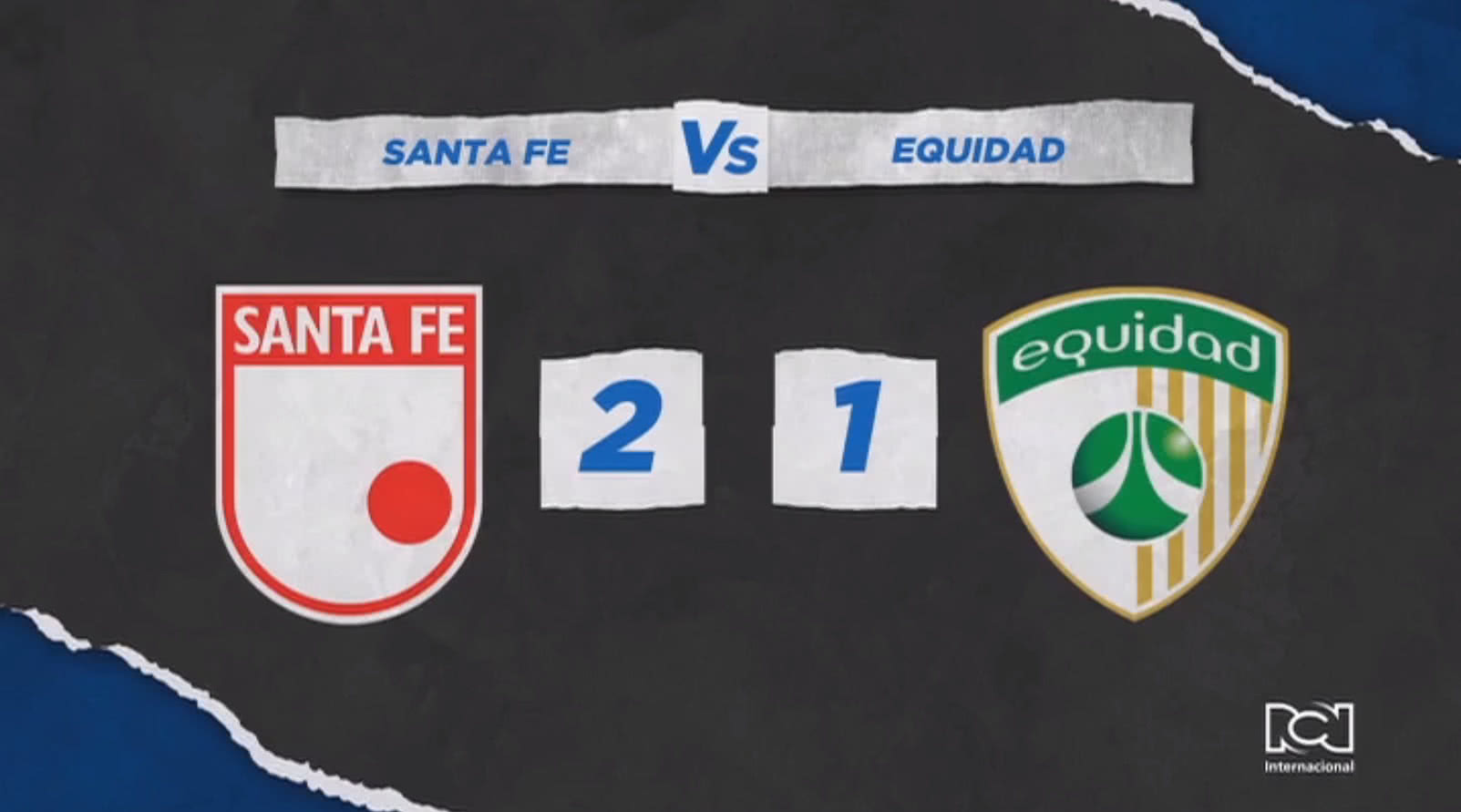 Independiente Santa Fe se impuso en la serie a La Equidad y es finalista de la Liga BetPlay 2020