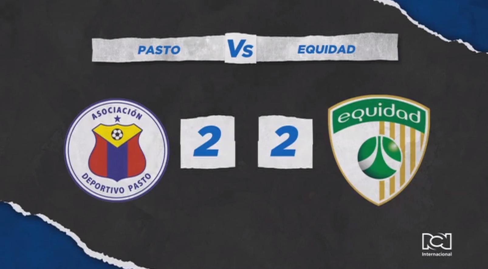 Deportivo Pasto no pudo con La Equidad en la primera fecha de la Liga BetPlay 2021-1