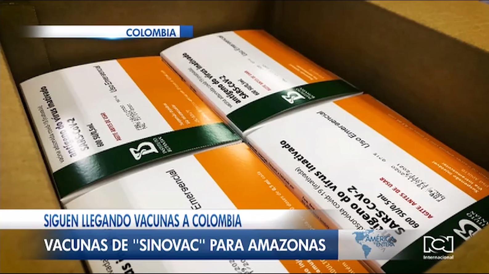 Este 24 de febrero llegarán 50.000 dosis de la vacuna de Pfizer a Colombia