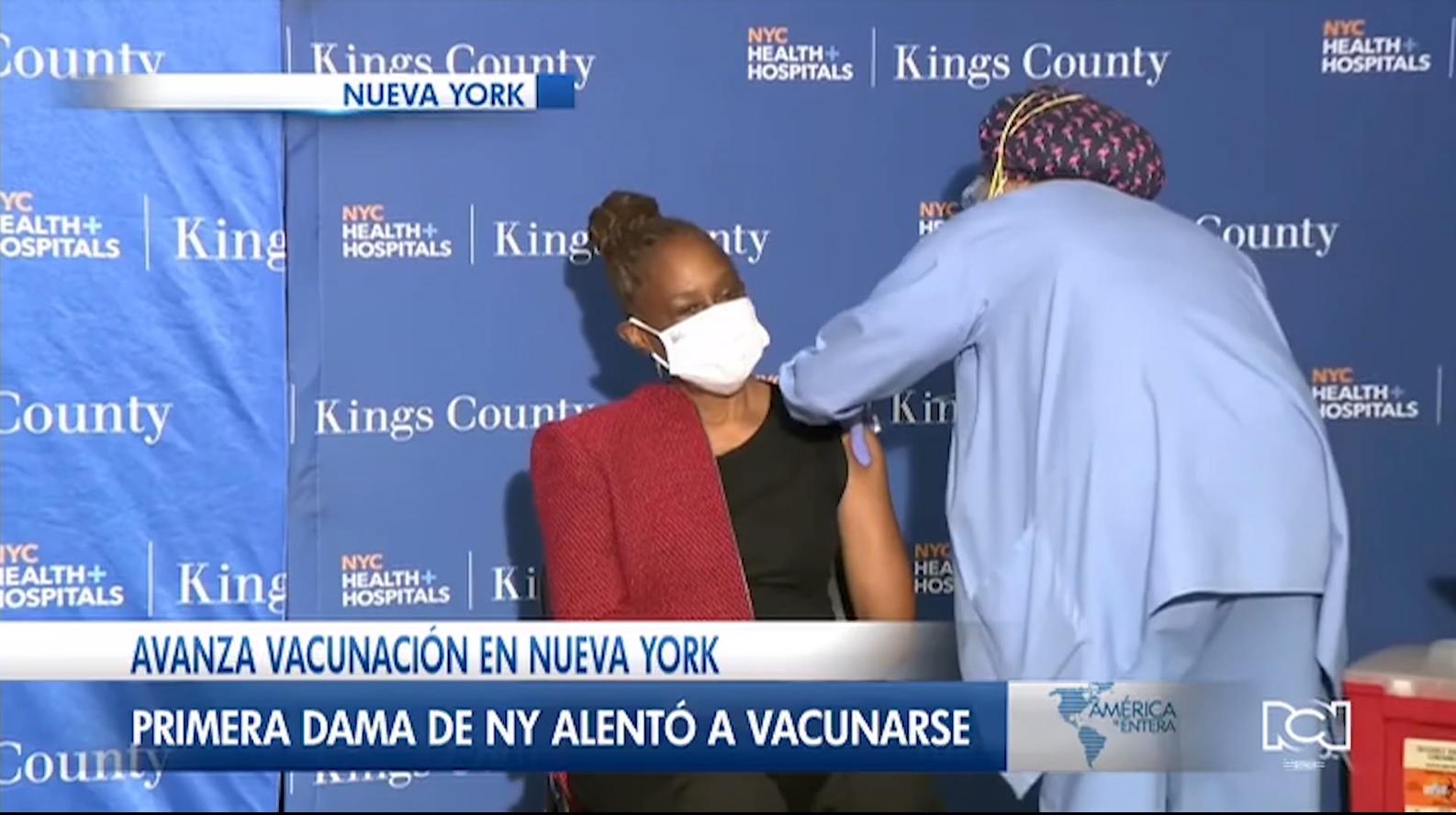 Nueva York ya aplicó más de 1 millón de vacunas contra el Covid-19