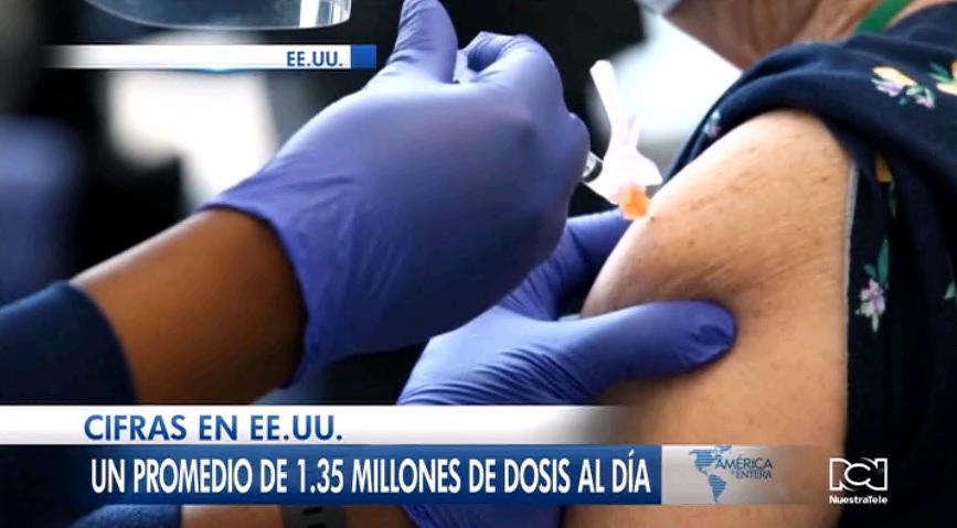 Estados Unidos ya tiene más personas vacunadas contra el Covid-19 que los que se contagiaron del virus