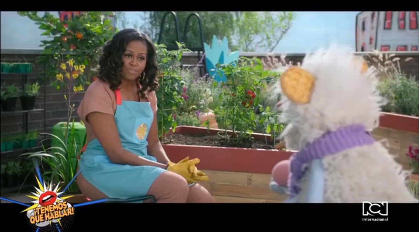 """Michelle Obama se estrena en Netflix con el show de """"Waffles + Mochi"""""""