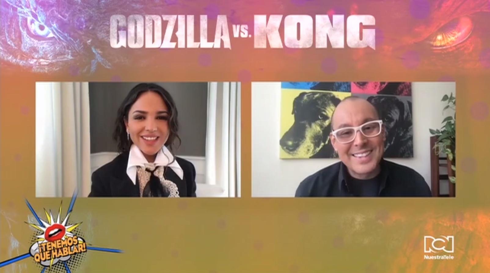 """Eiza González habló sobre el reto actoral que significó hacer el personaje de Maya Simmons en """"Godzilla vs. Kong"""""""