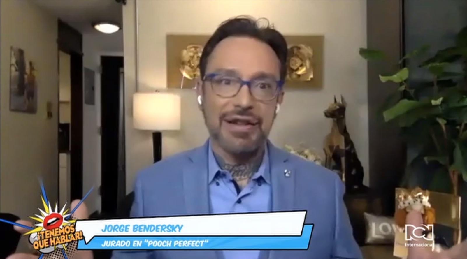 """Jorge Bendersky lleva toda su experiencia al jurado de la serie """"Pooch Perfect"""""""
