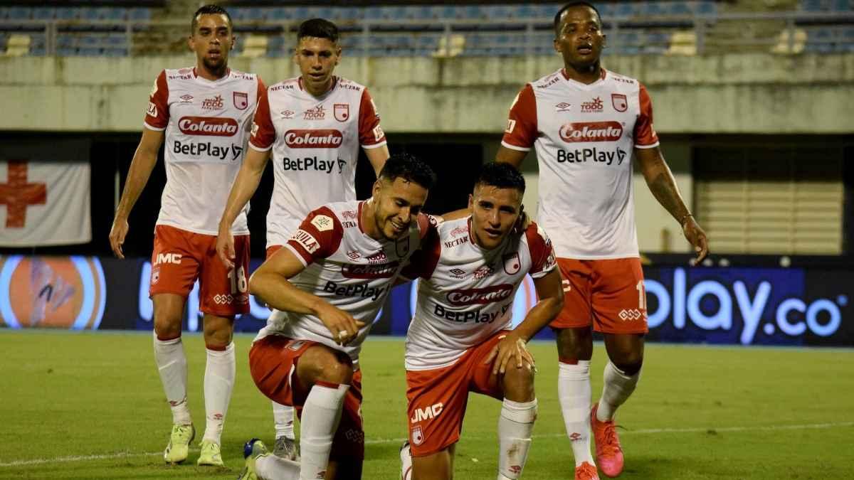 Goleada Cardenal: vea aquí los tres goles de Santa Fe ante Alianza Petrolera