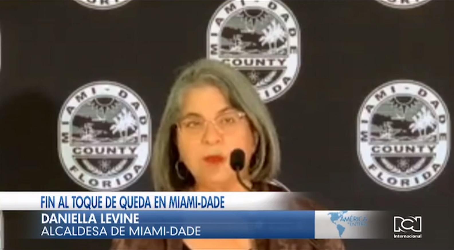 Miami-Dade podrá fin este 12 de abril al toque de queda nocturno tras más de un año de restricciones