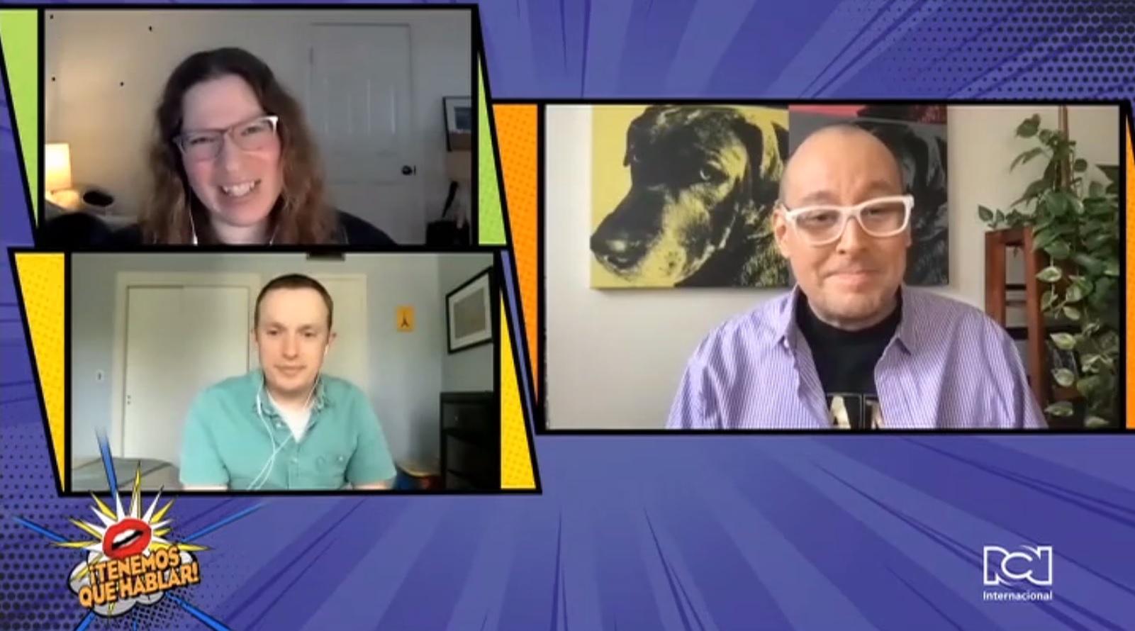 """Jeff Rosenberg y Laura Jacqmin hablaron sobre el génesis de la comedia """"We Broke Up"""""""
