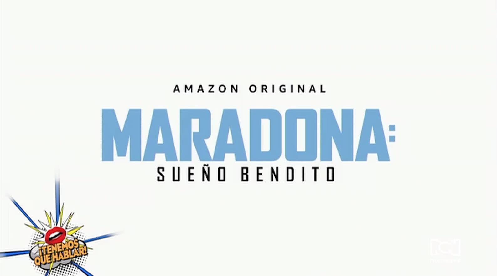 """Amazon Prime Video publicó el primer adelanto de la serie """"Maradona: Sueño bendito"""""""