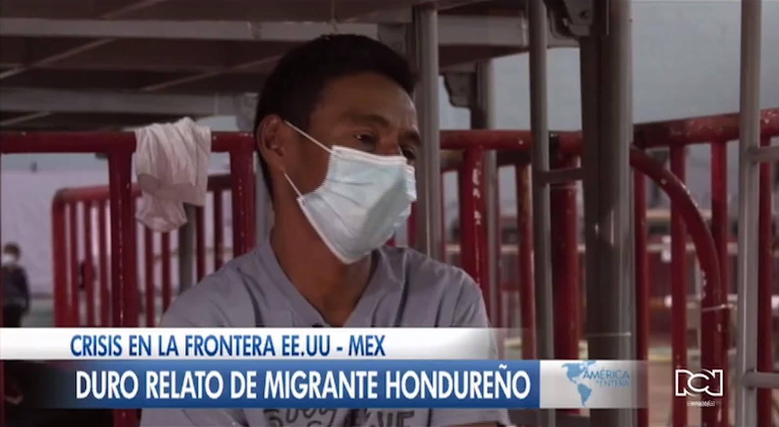 Migrante hondureño se entregó a la Patrulla Fronteriza para que sus hijos pudieran cruzar solos a Estados Unidos