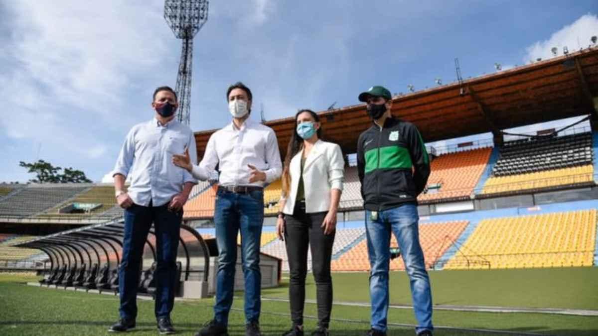 Alcalde de Medellín anunció regreso de público al estadio Atanasio Girardot