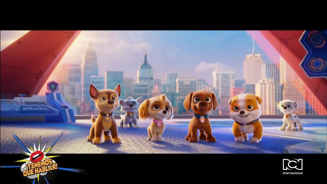 """Cachorros al rescate de Adventure City: Lanzan nuevo adelanto de """"Paw Patrol: The Movie"""""""