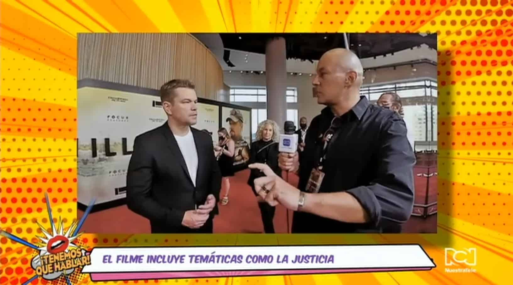 """Estuvimos en a premiere de la película """"Stillwater"""" y hablamos con sus estrellas"""
