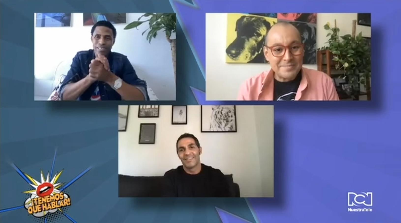 """Mario de la Rosa y Fausto Mata hablaron sobre su participación en el filme """"El Cuartito"""""""