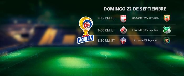 Próxima fecha del fútbol colombiano
