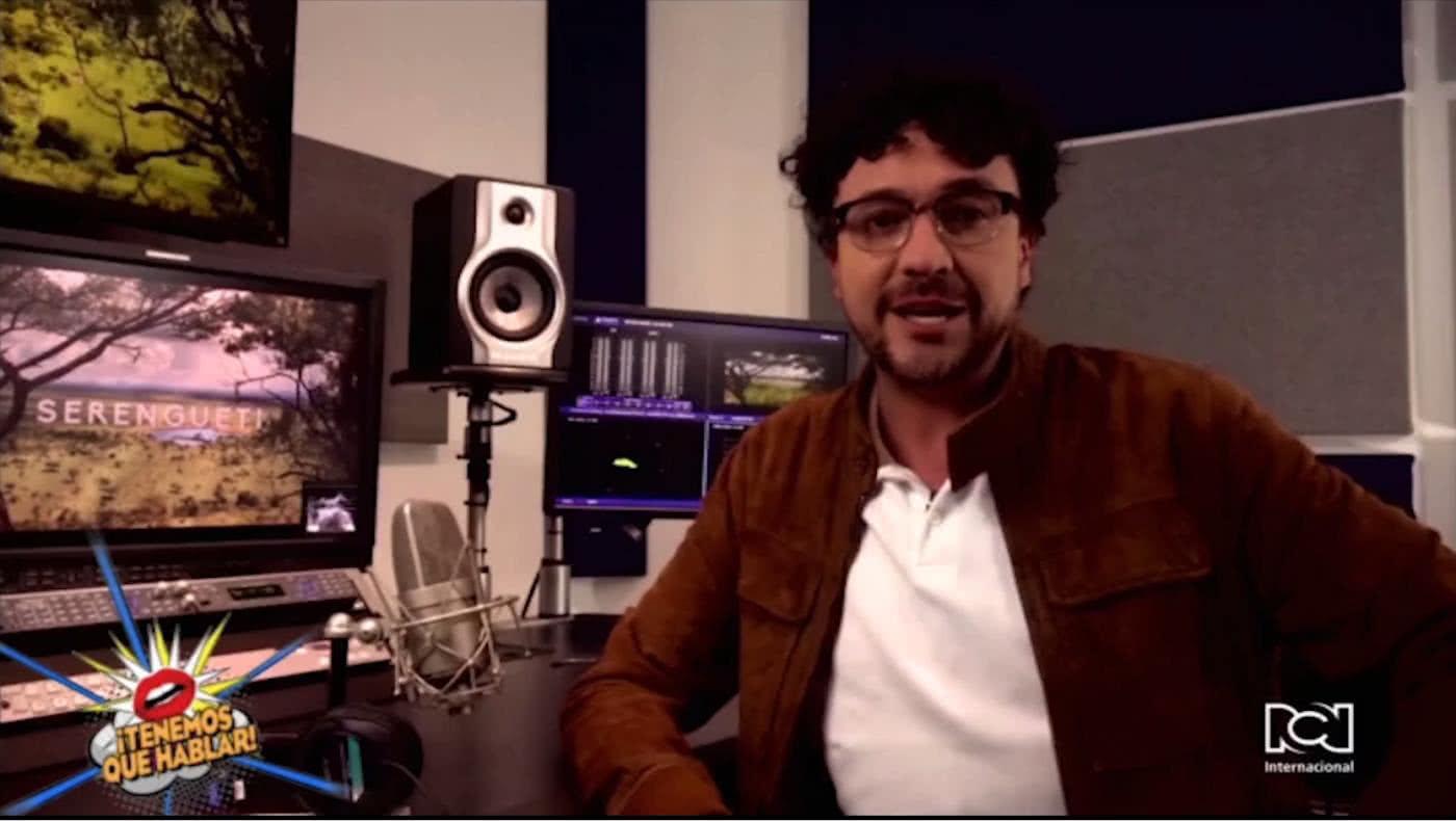 Andrés Cepeda será la voz en español de 'Serengueti'