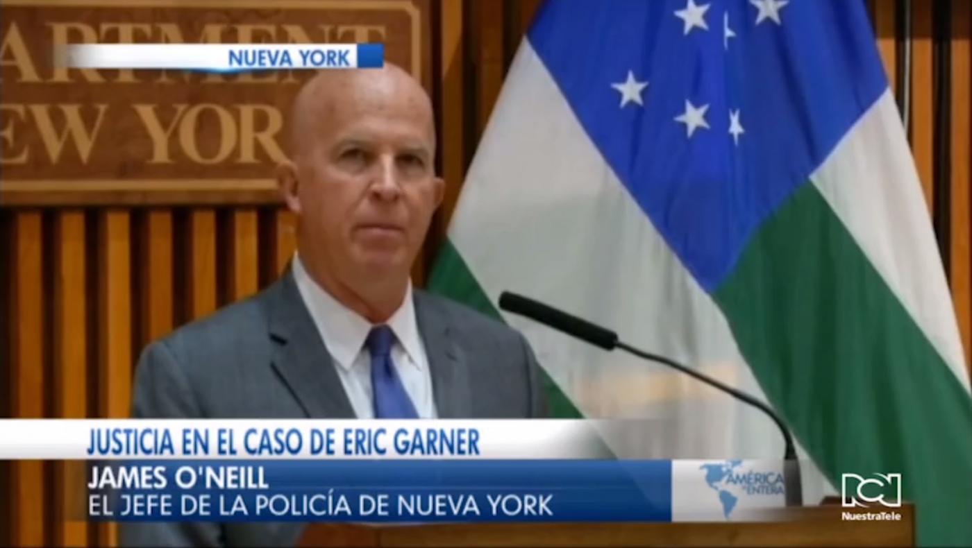Despiden al policía que mató a Eric Garner