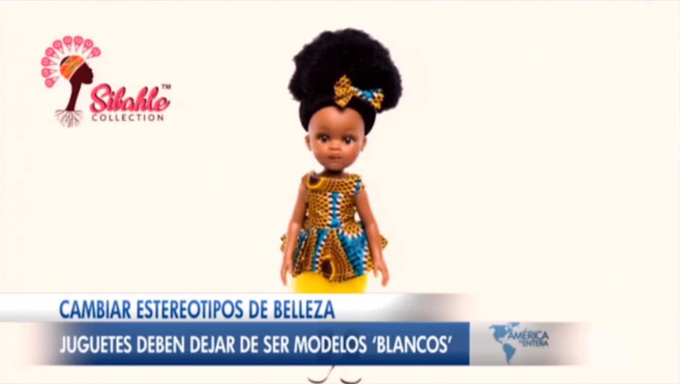 Crean muñecas afro para cambiar estereotipos de belleza