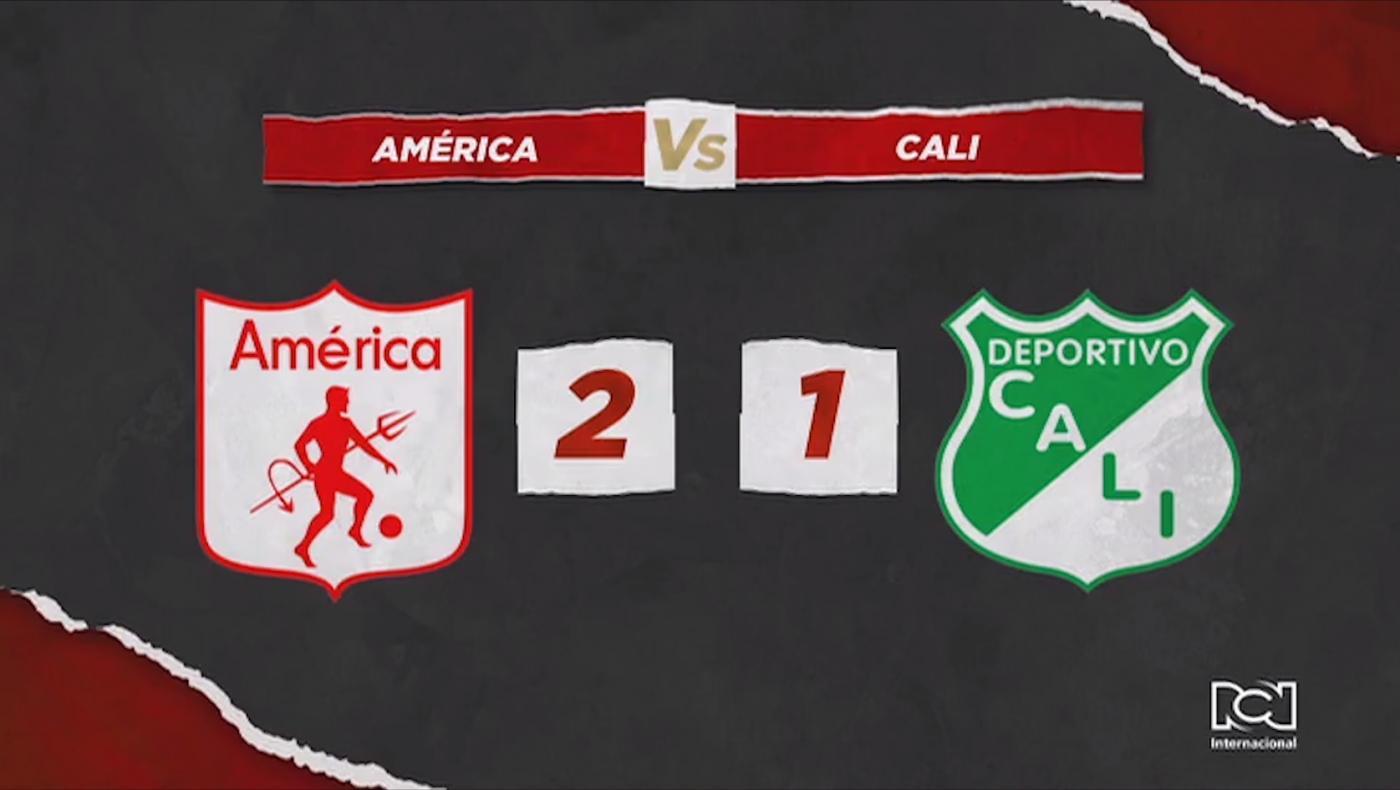 América derroto al Deportivo Cali en un vibrante clásico vallecaucano