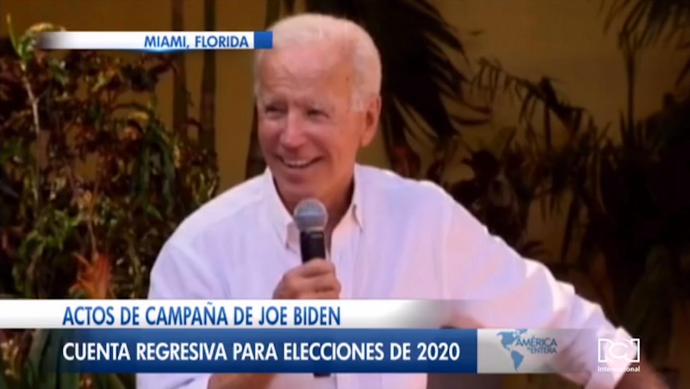 Joe Biden realiza actos de campaña en Miami y promete TPS para venezolanos si llega a la Casa Blanca