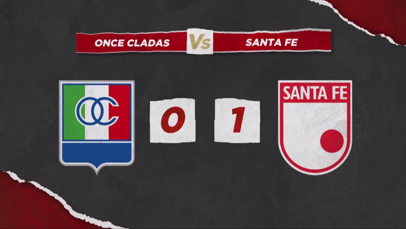 Independiente Santa Fe venció a Once Caldas y sigue soñando con la clasificación