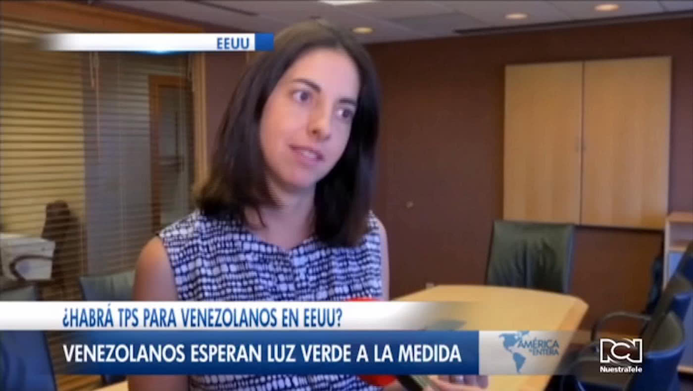 ¿Habrá TPS para venezolanos? Esta semana inicia el debate en el Senado de Estados Unidos