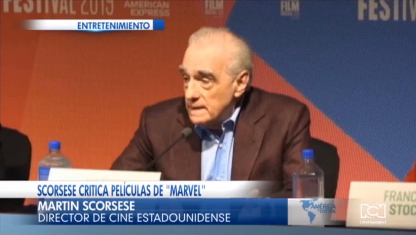 Para Martín Scorsese las películas de superhéroes de Marvel no son cine