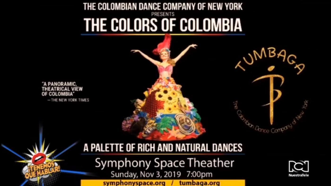 El folclor y la herencia cultural de Colombia llegan este 3 de noviembre a Nueva York con el show de 'Tumbaga'
