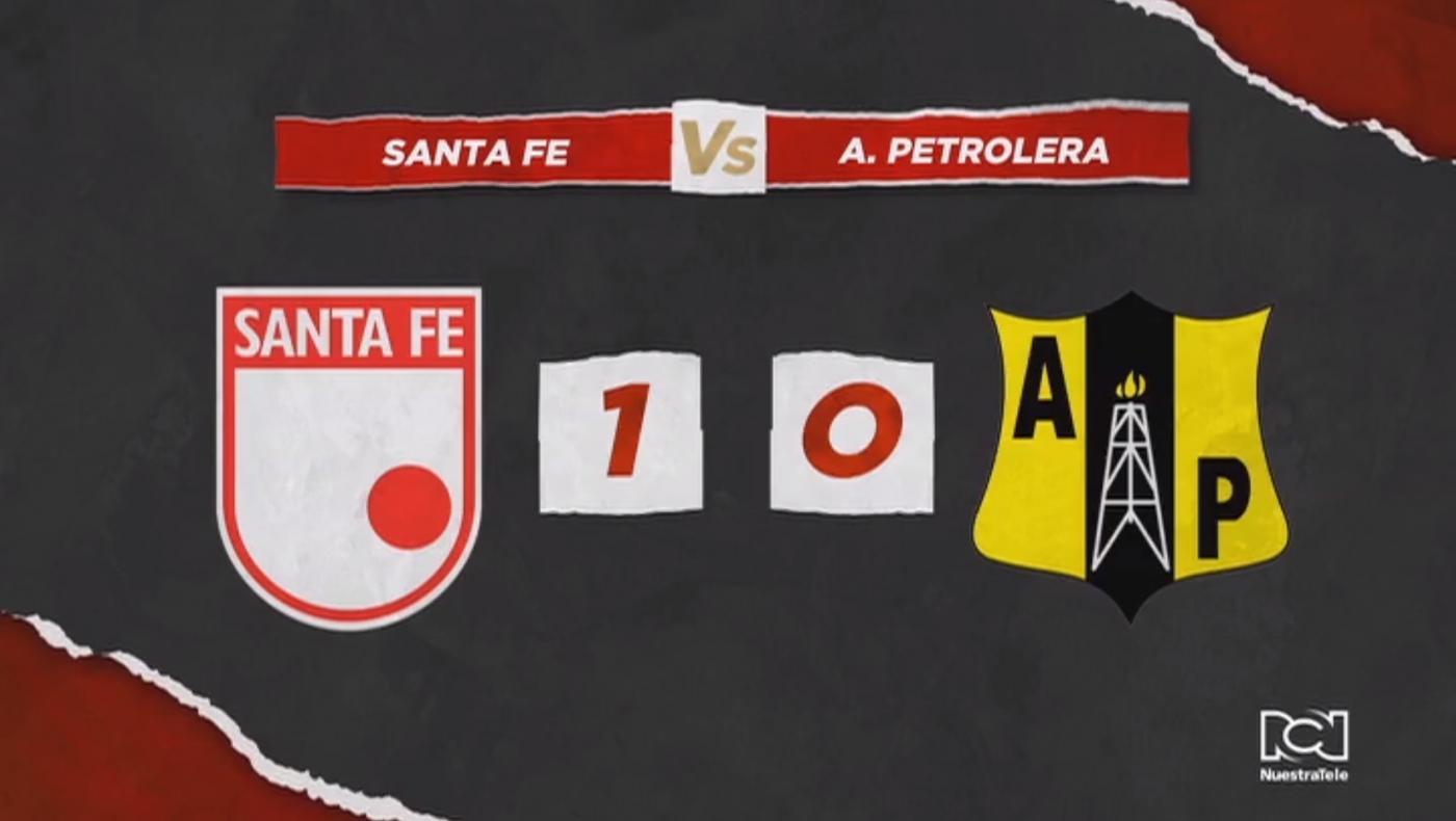 Independiente Santa Fe sumó su segundo triunfo de local en los cuadrangulares al derrotar a Alianza Petrolera