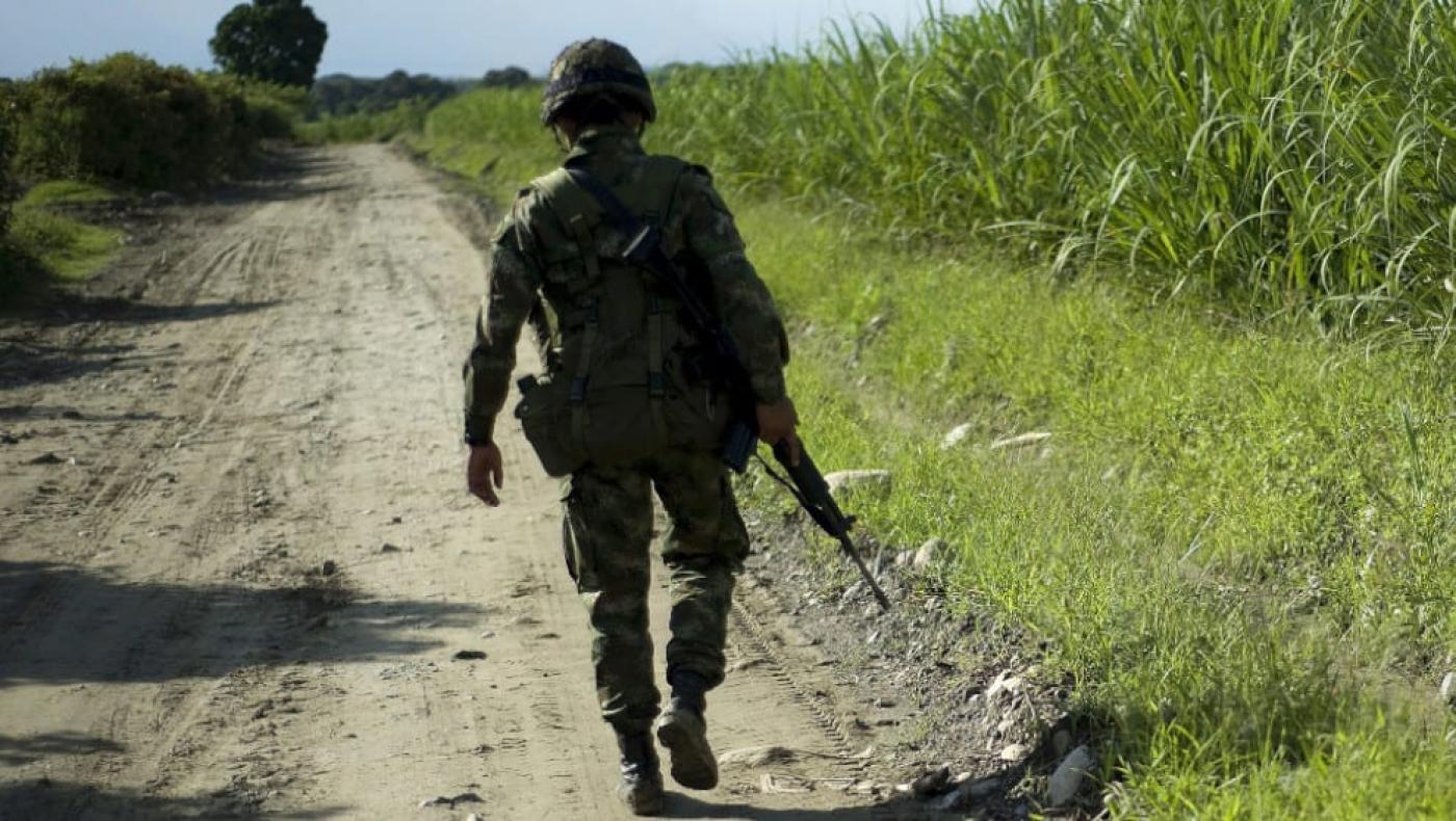 Ocho militares heridos por activación de campo minado en Montecristo, Bolívar