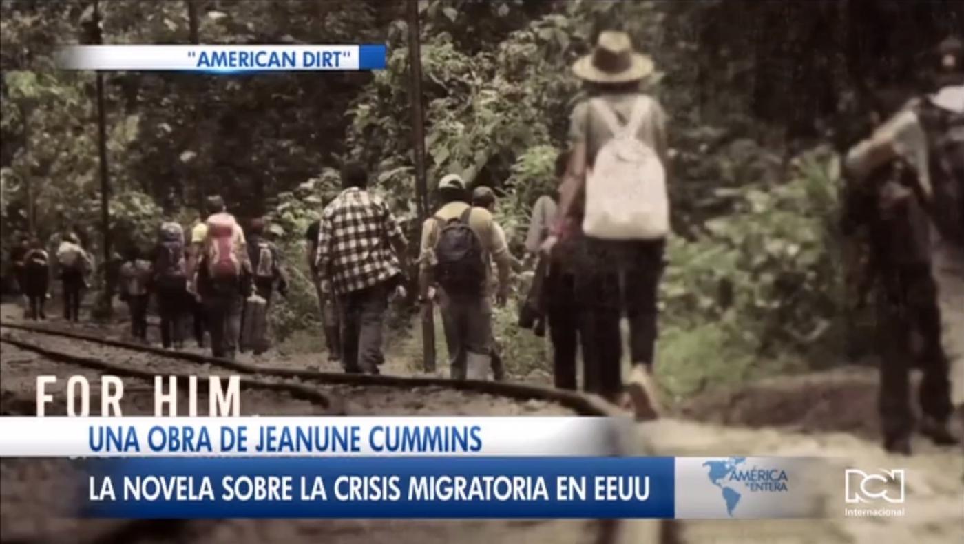 Jeanune Cummins narra en la novela 'American Dirt' los peligros que enfrentan los migrantes para cumplir el sueño americano