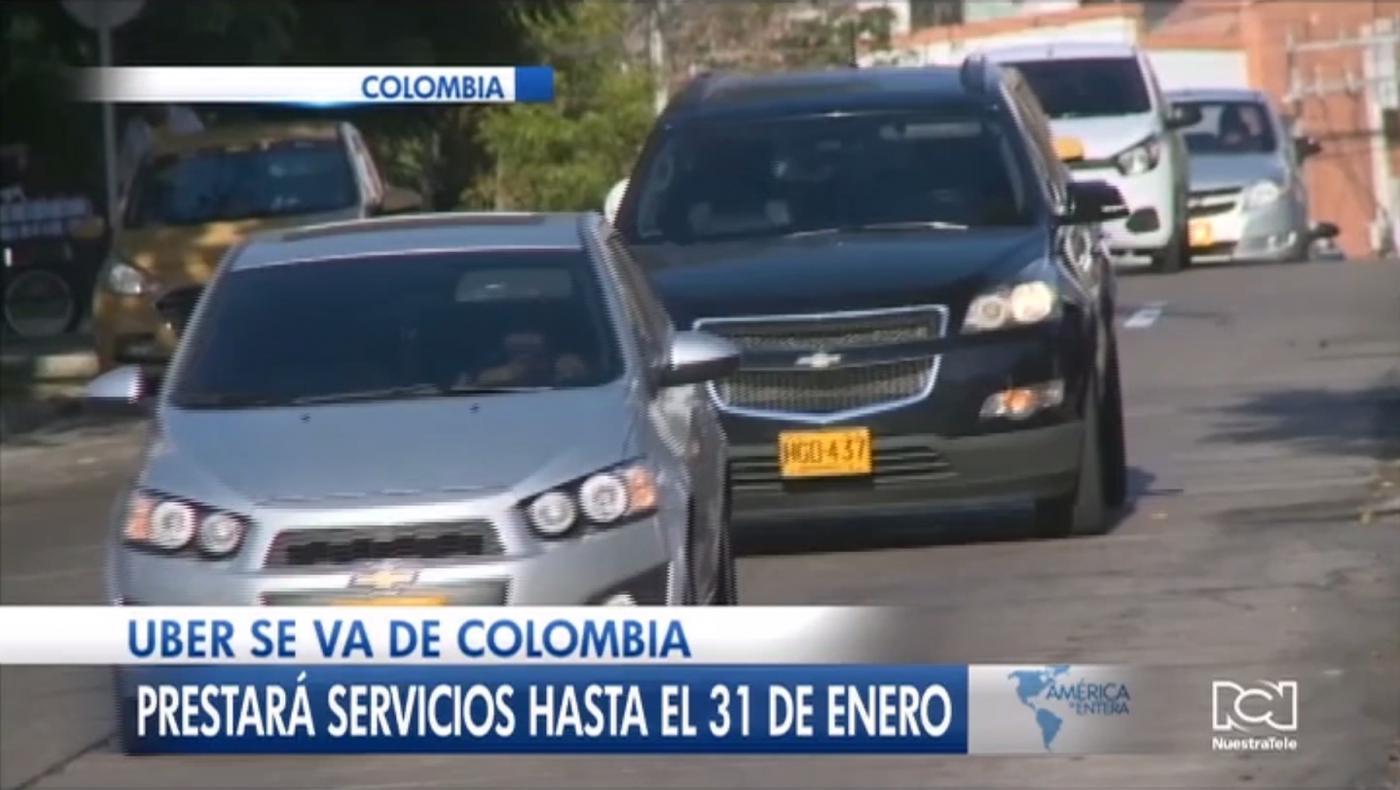 Barranquilla se convirtió en la primera ciudad de Colombia en la que Uber dejó de funcionar