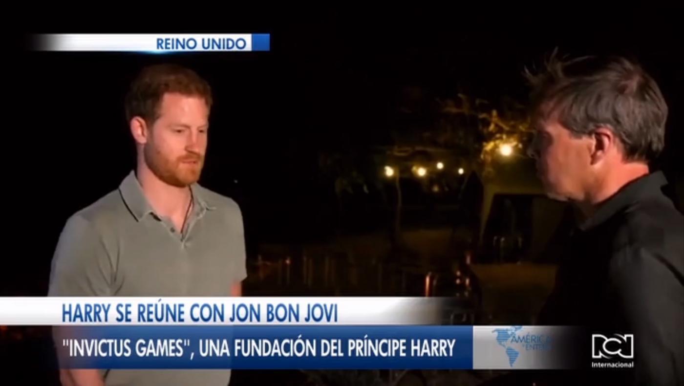Príncipe Harry grabará una canción junto a Jon Bon Jovi para impulsar los Invictus Games