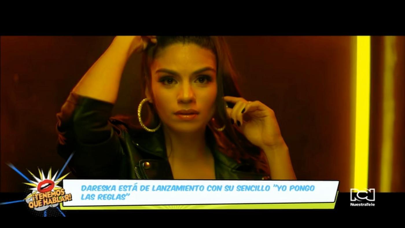 """""""Yo pongo las reglas"""" es el más reciente sencillo de la cantante colombiana Dareska"""