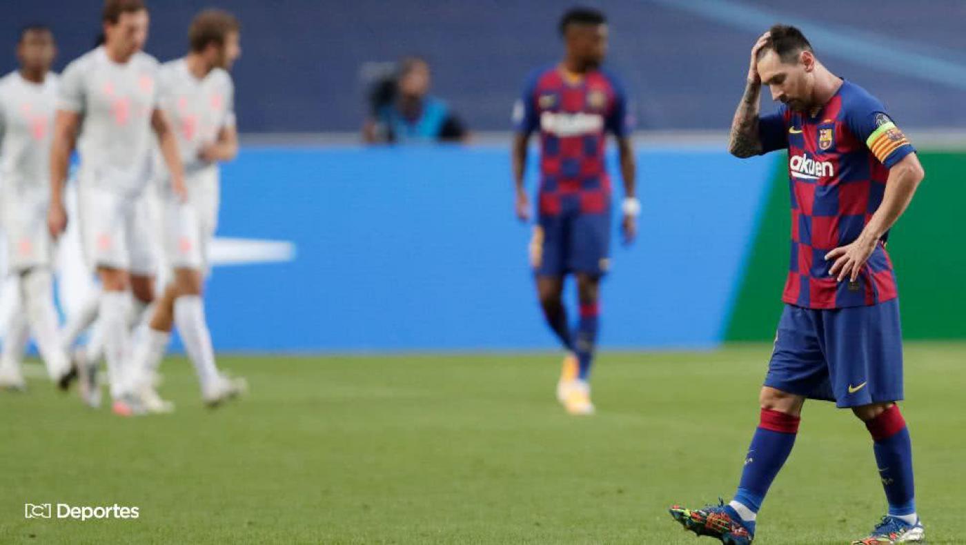 Bayern Múnich humilla y elimina al Barcelona de la Champions League
