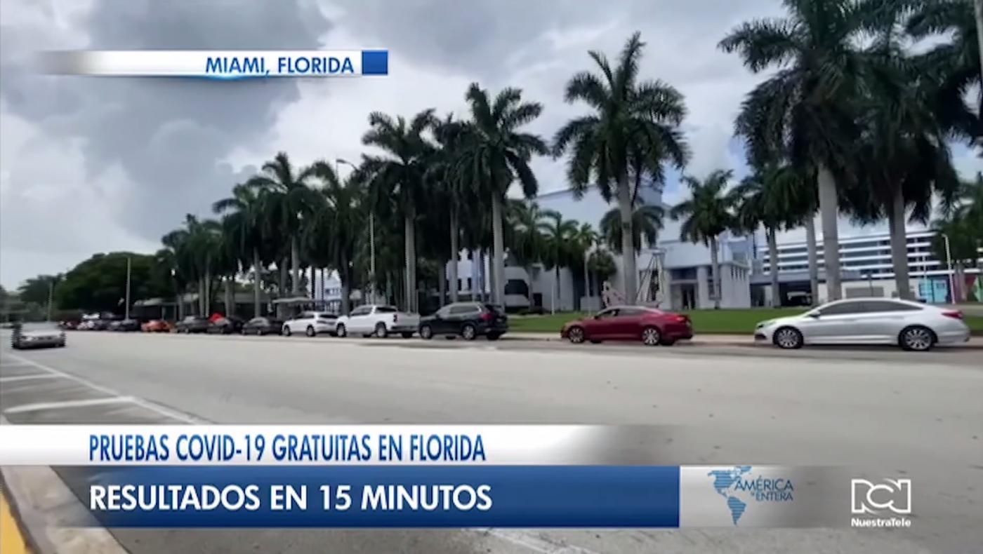 Florida inicia pruebas rápidas de Covid-19 en Hard Rock Stadium y Marlins Park