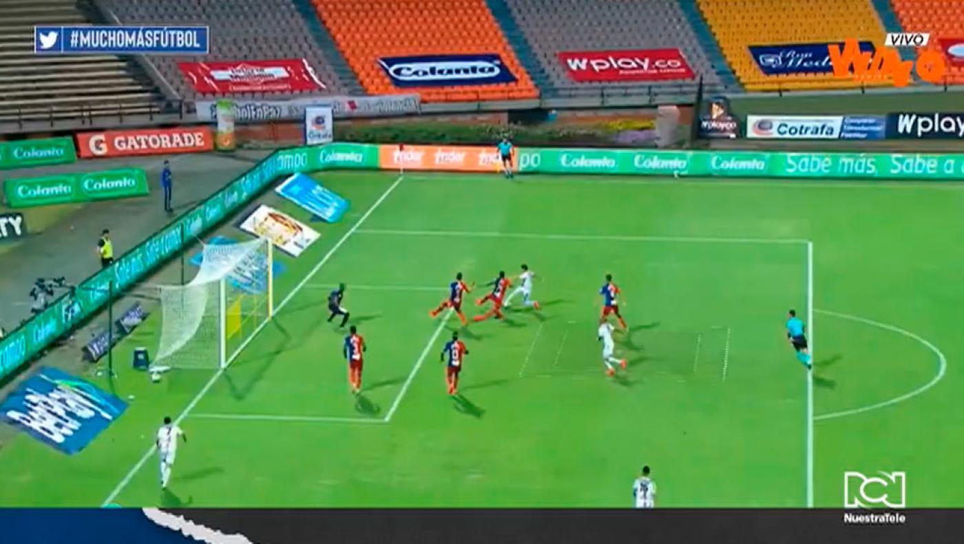 Medellín y Pereira terminaron igualados en el Atanasio 1-1