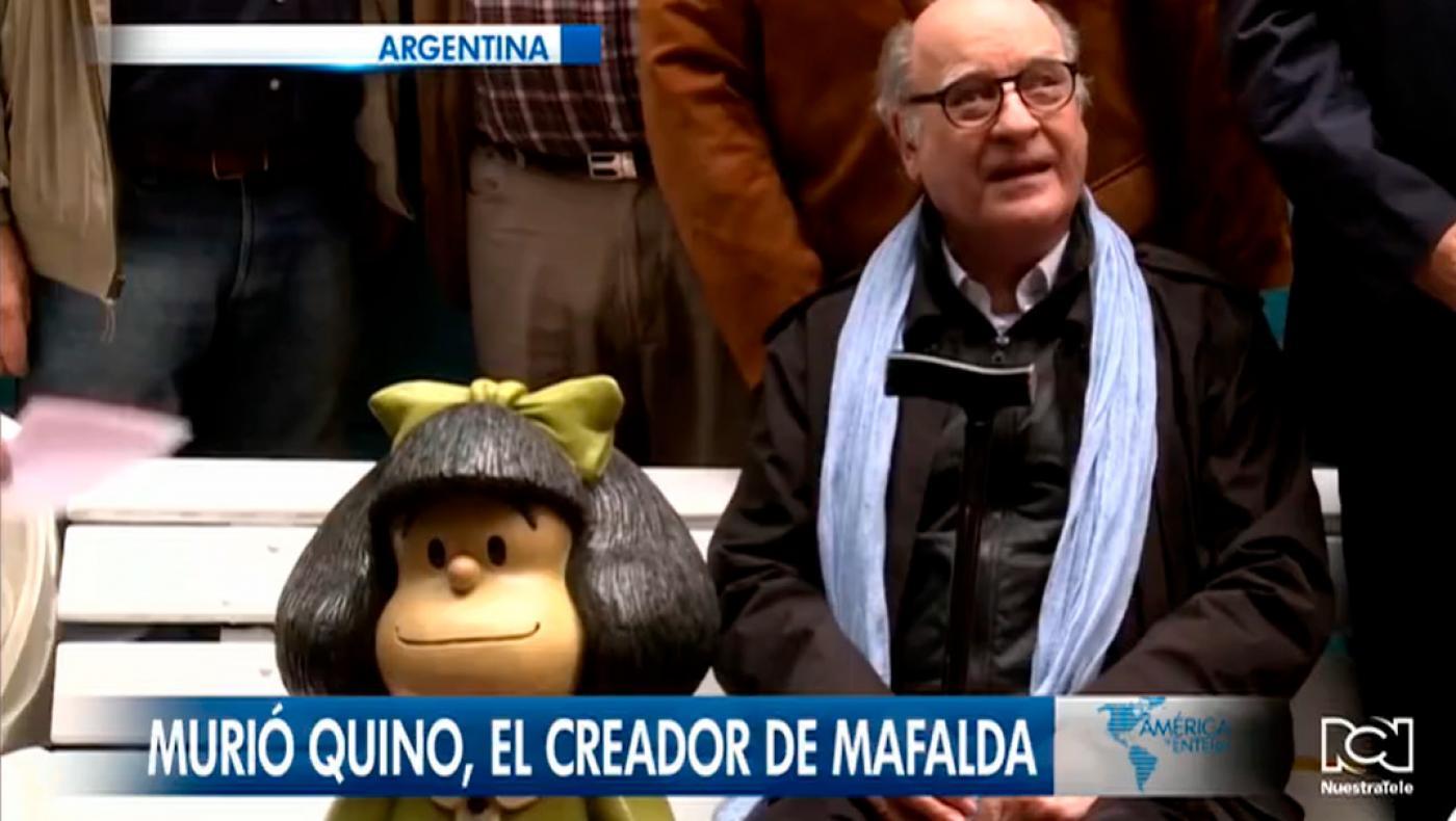 El mundo lo recuerda, murió Quino, el creador de Mafalda
