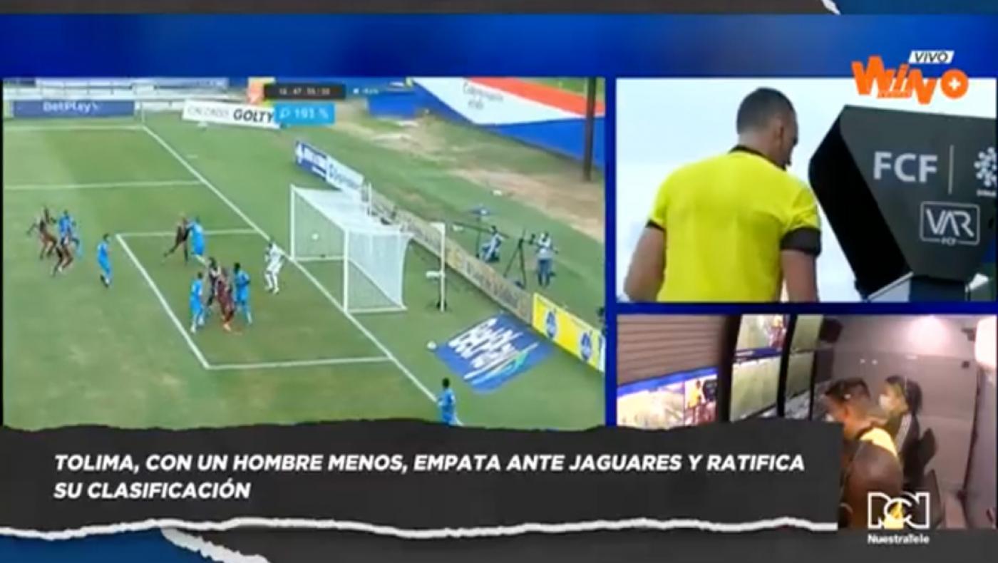 Tolima, empata ante Jaguares y ratifica su clasificación en la Liga BetPlay 2020