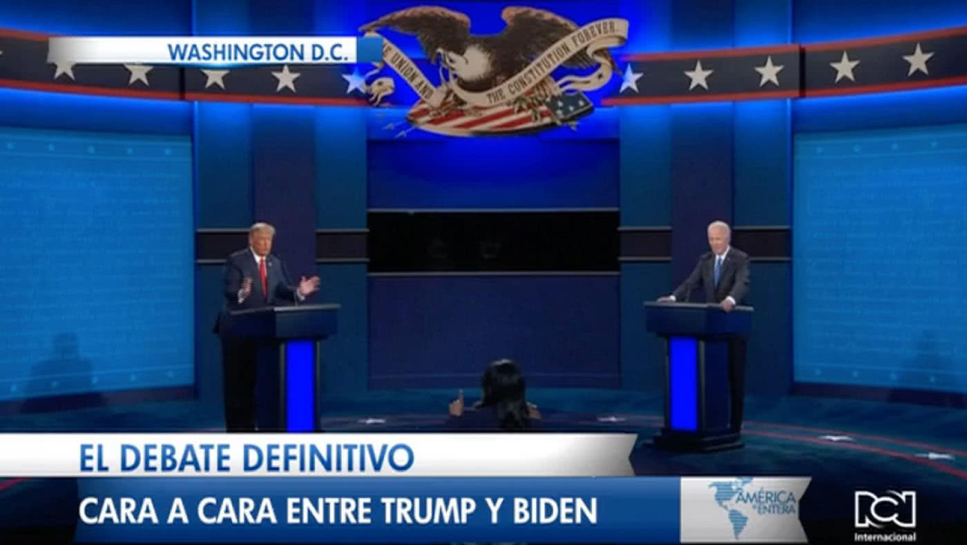 El debate definitivo, cara a cara entre Trump y Biden