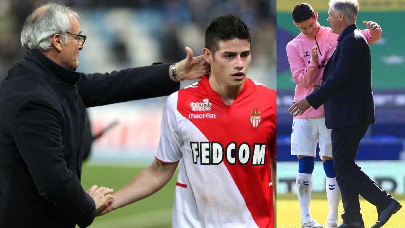 Ranieri se rinde a James y destaca la conexión con Ancelotti