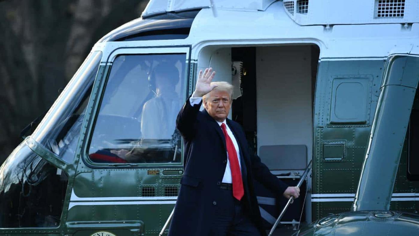 Volveremos de alguna forma: la promesa de Trump en discurso de despedida