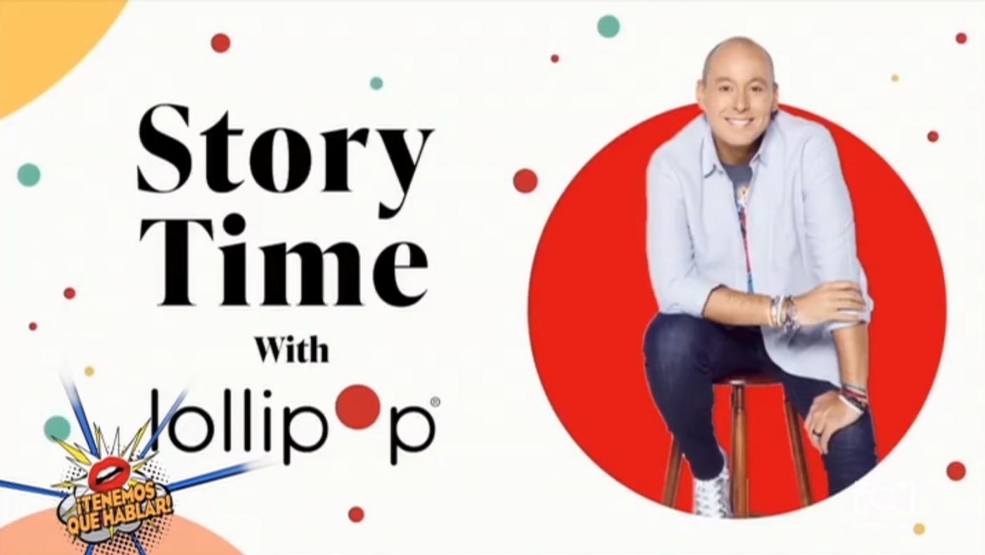 Alfonso Díaz se unió al Story Time de Lollipop Theater Network con la lectura del cuento Lola de Junot Díaz