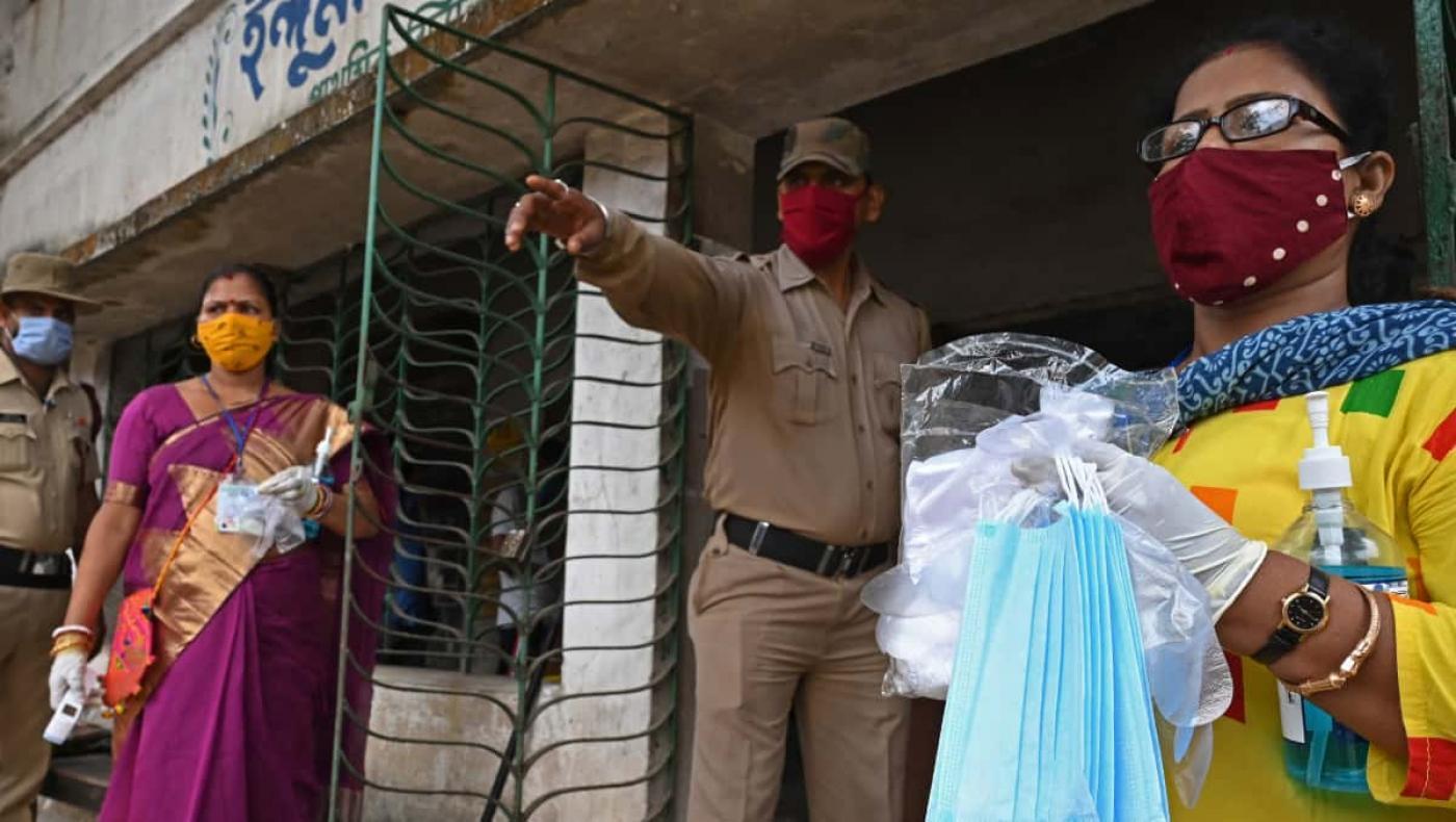 India se convirtió en el segundo país más afectado por la pandemia