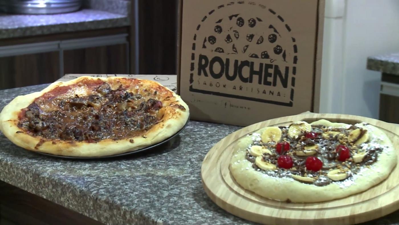 Emprendimientos con amor: Rouchen deleita a los amantes de la pizza con deliciosos sabores innovadores