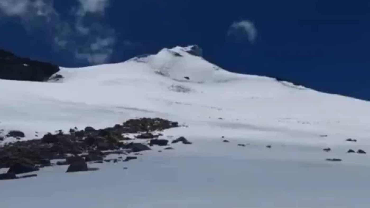 ¡Espectacular fenómeno natural! Cayó nieve en el nevado del Cocuy, en Boyacá