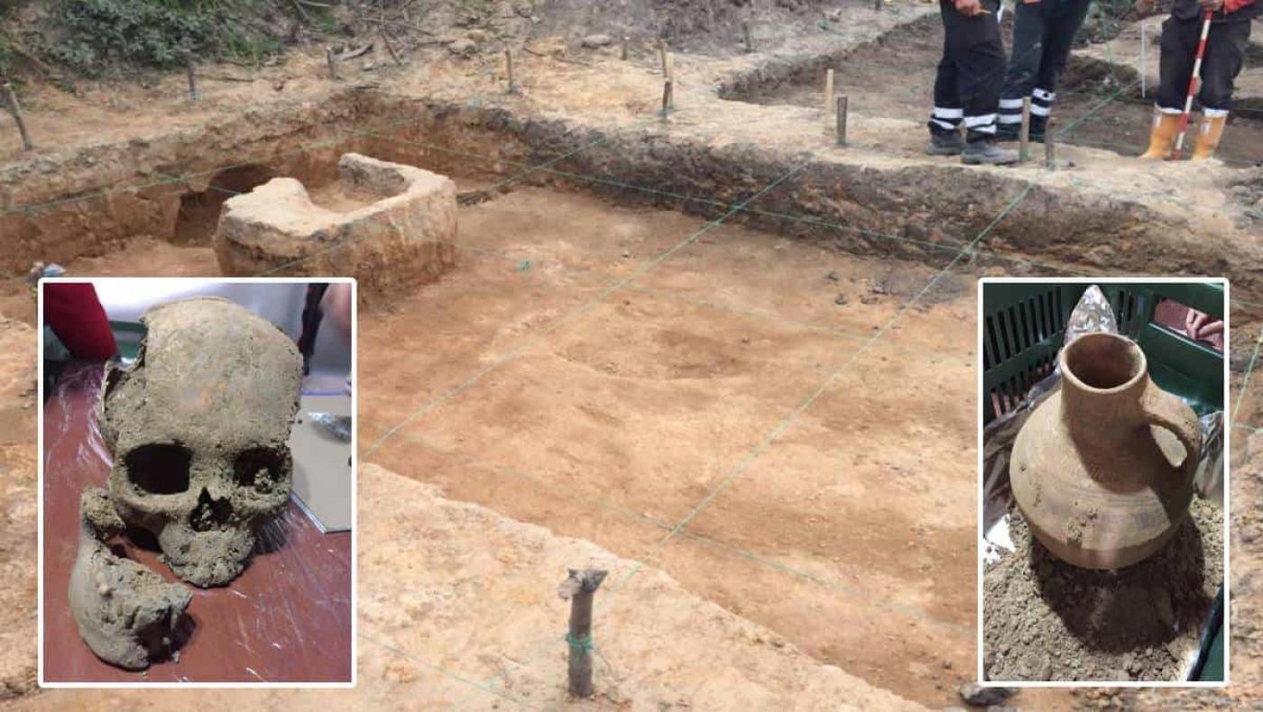 Sorprendente hallazgo arqueológico en obra de extensión vial en Bogotá