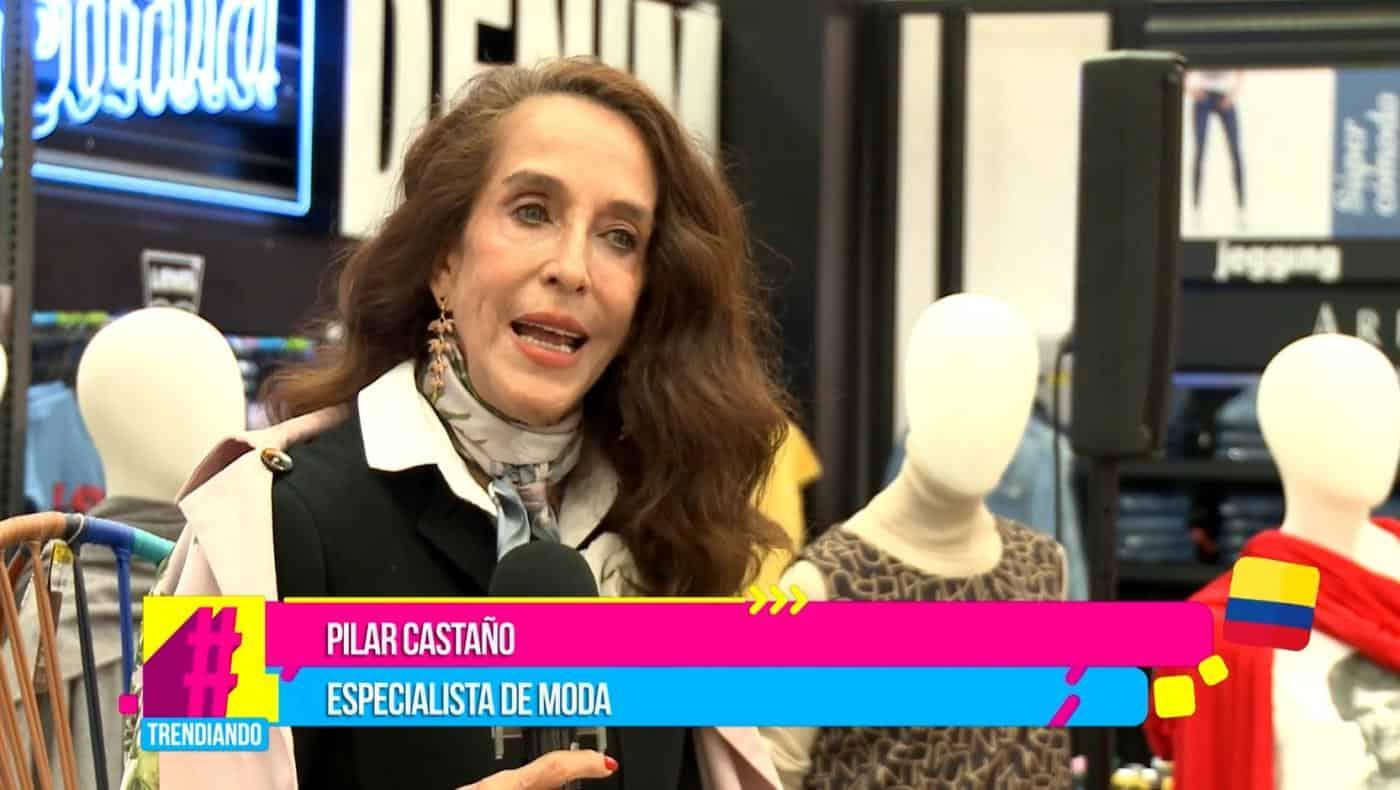 Pilar Castaño le rinde homenaje a su madre con el diseño de sus prendas en las pasarelas de moda